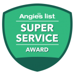 Allstate Wireless Security Inc received Angie's List Super Service Award