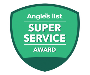 Allstate Wireless Security Inc receives the Angie's List Super Service Award
