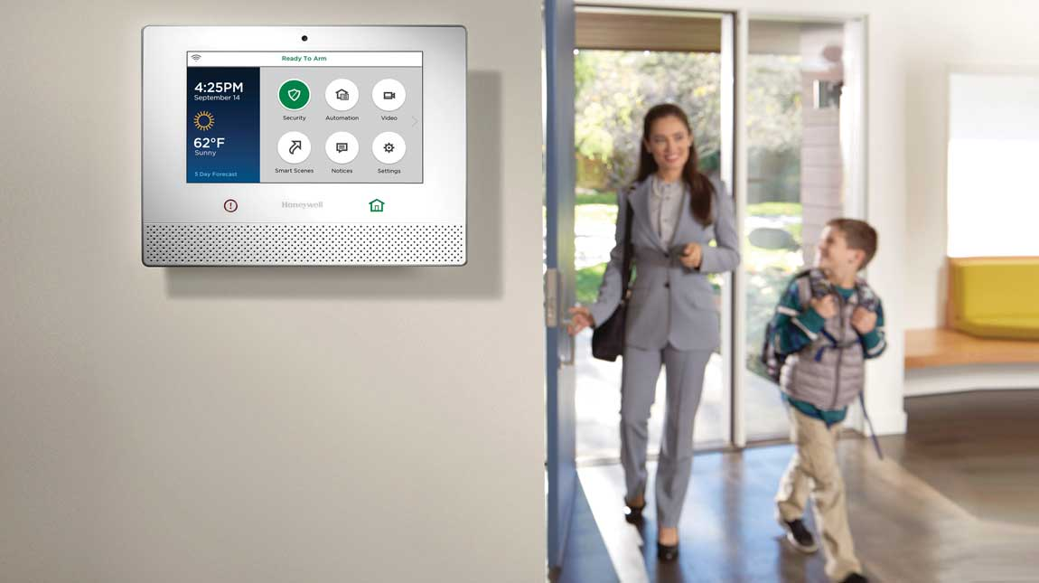 Security systems by Honeywell
