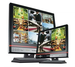 Multiplex video monitors