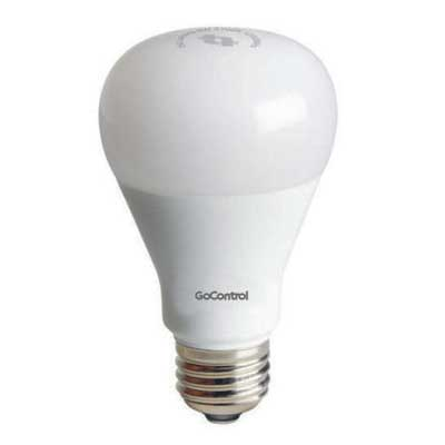 Controllable LED light bulb with Z-wave.