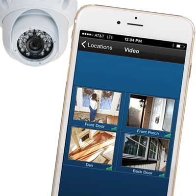 Security cameras & video surveillance systems security systems for home