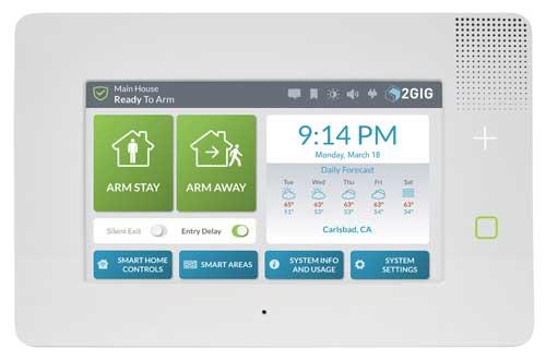 2GIG GC3e Home Security System
